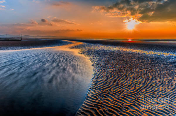 Wall Art - Photograph - Seashore Sunset by Adrian Evans