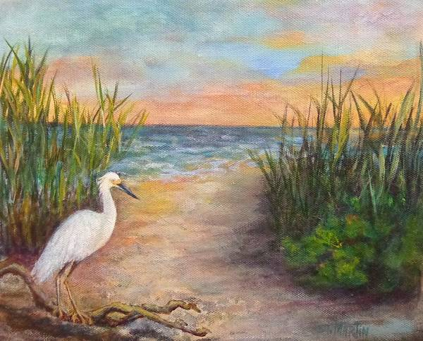 Captiva Island Painting - Seaside Dining by Annie St Martin