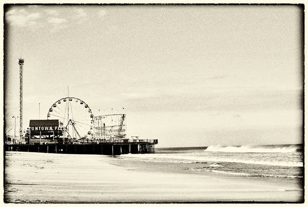 Photograph - Seaside Heights Funtown Pier Vintage  by Terry DeLuco
