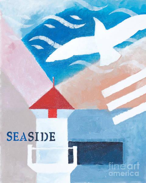 Painting - Seaside by Lutz Baar