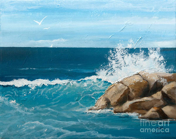 Painting - Seaside by Michelle Constantine