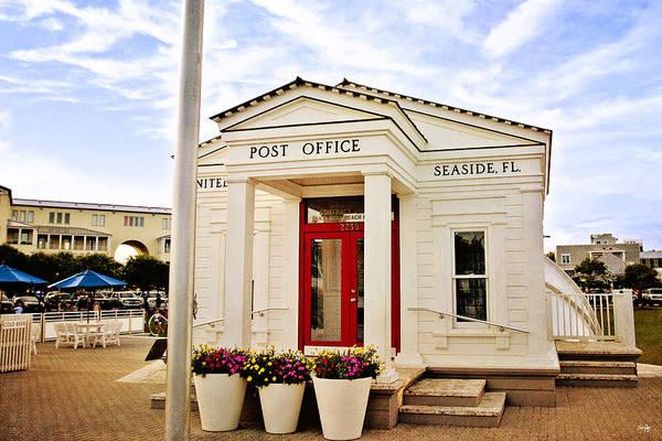 Northwest Florida Photograph - Seaside Post Office by Scott Pellegrin