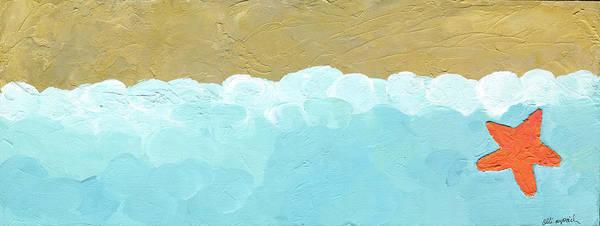 Starfish Painting - Seaside Starfish by Alli Rogosich