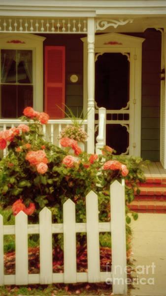 Photograph - Seaside Victorian Cottage by Debra Fedchin