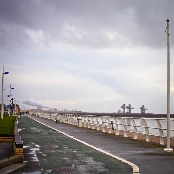 Bristol Channel Photograph - Seaside Walkway by Tom Gowanlock