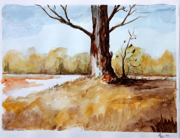 Wall Art - Painting - Season Of Transition by Ann Loyd