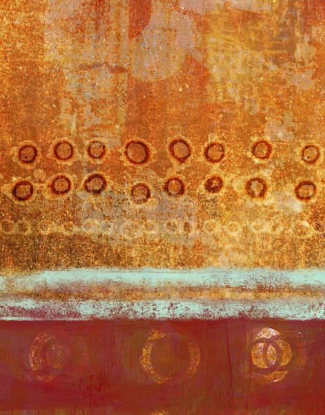 Acrylic Mixed Media - Seasonal Shift by Carol Leigh