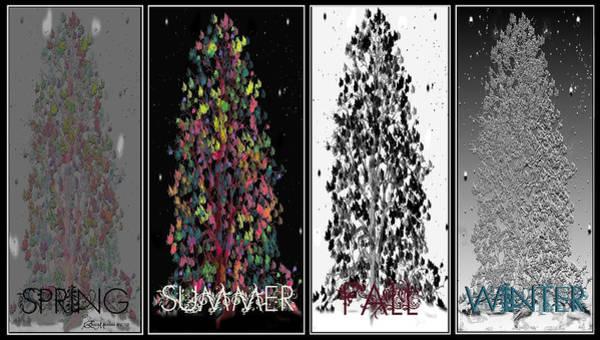 Digital Art - Seasons by Ericamaxine Price