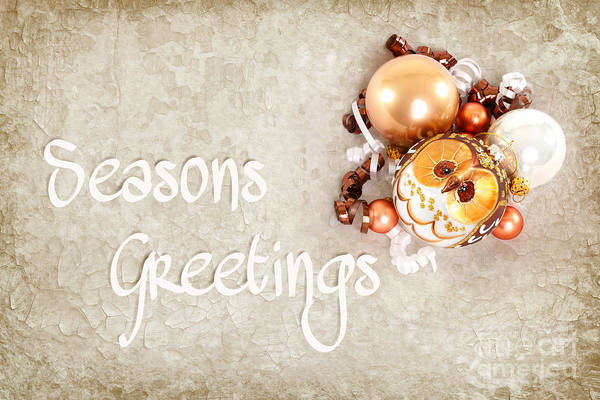 Photograph - Seasons Greetings by Beve Brown-Clark Photography