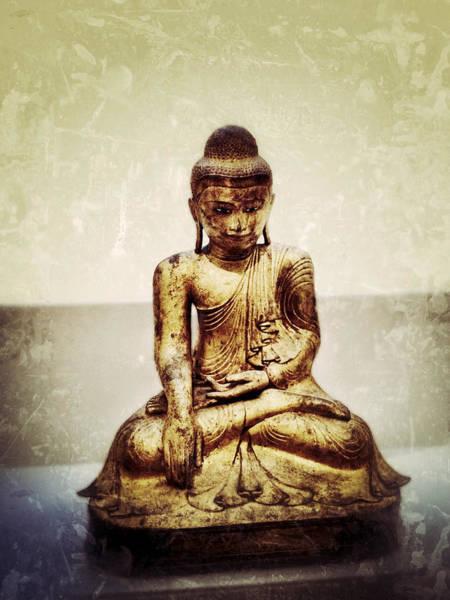 Photograph - Seated Shakyamuni Buddha by Natasha Marco