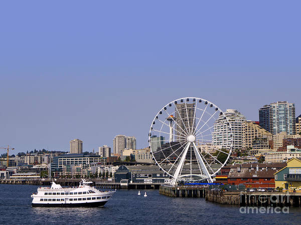 Photograph - Seattle Attractions by Brenda Kean