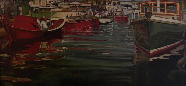 Seattle Boat Show Art Print