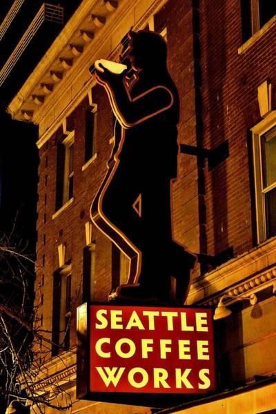 Wall Art - Photograph - Seattle Coffee Works by Benjamin Yeager