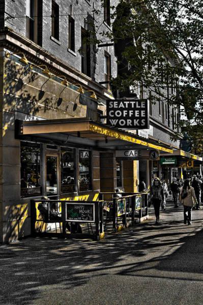 Photograph - Seattle Coffee Works - Seattle Washington by David Patterson