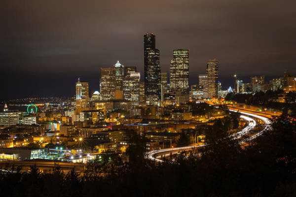 Photograph - Seattle Downtown Skyline by TM Schultze