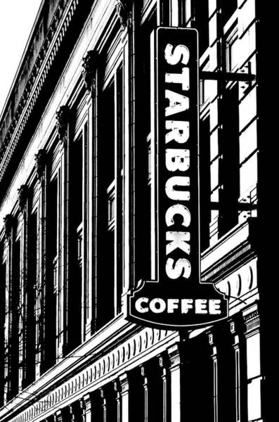 Wall Art - Photograph - Seattle Icon Black And White by Benjamin Yeager