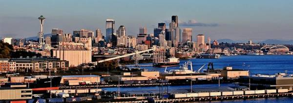 Elliot Bay Wall Art - Photograph - Seattle Industry by Benjamin Yeager