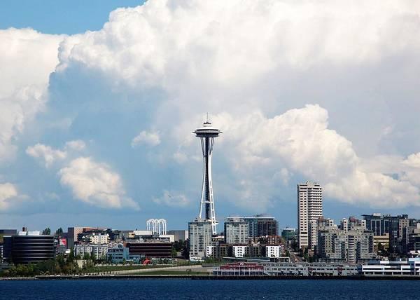 Photograph - Seattle by Kathy McCabe