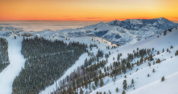 Bald Mountain Photograph - Seattle Ridge Sunset by Ryan Moyer