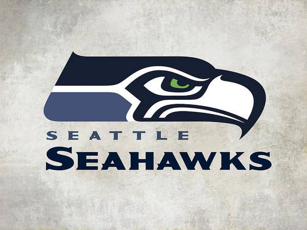 Seattle Seahawks Wall Art - Digital Art - Seattle Seahawks Fan Panel by Daniel Hagerman