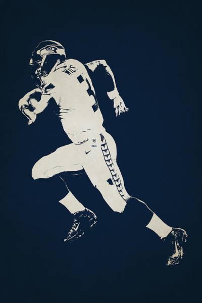 Seattle Seahawks Wall Art - Photograph - Seattle Seahawks Shadow Player by Joe Hamilton