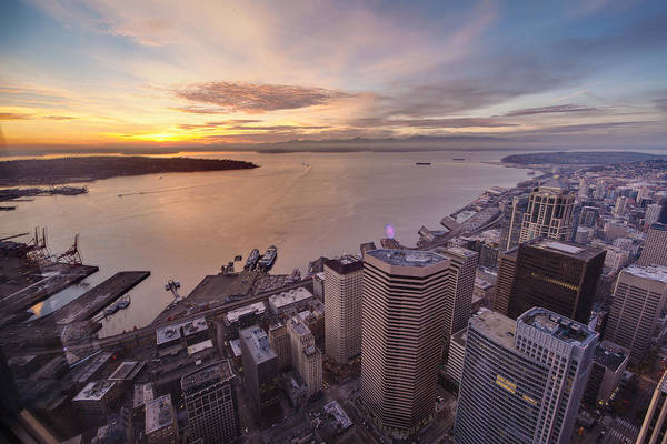 Elliott Photograph - Seattle Serenity by Mike Reid