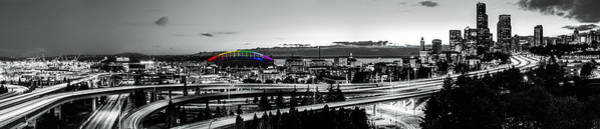 Elliot Bay Wall Art - Photograph - Seattle Shows Its Pride by Ryan Manuel