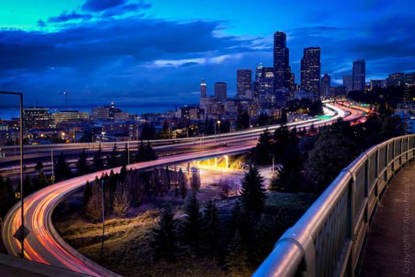 Photograph - Seattle Skyline by Alexander Fedin