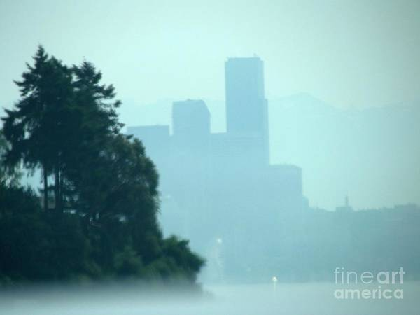 Photograph - Seattle Skyline by Barbara Henry