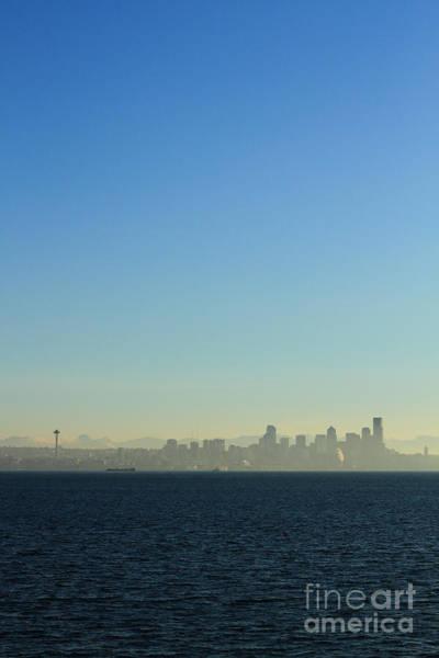 Pearl Jam Photograph - Seattle Skyline by Hans Koepsell