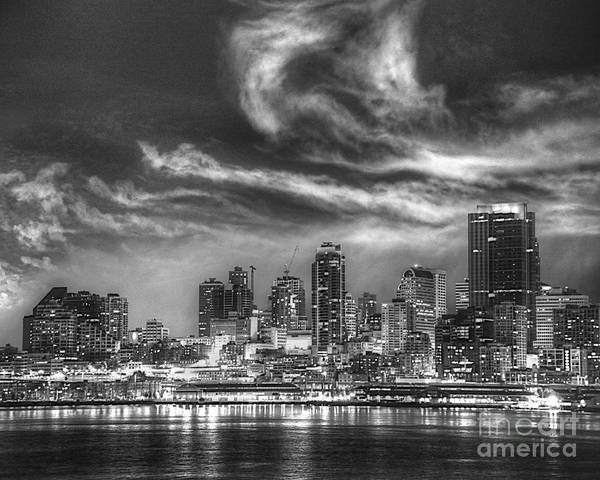 Photograph - Seattle Skyline by Kate McKenna