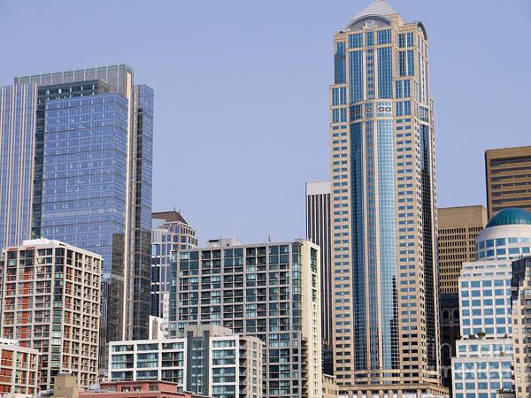 Photograph - Seattle Skyscrapers by Brenda Kean