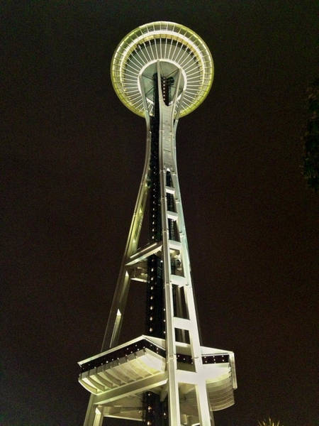 Photograph - Seattle Space Needle by Steven Lapkin