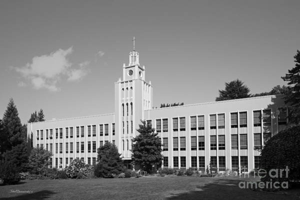 Photograph - Seattle University Administration Building by University Icons