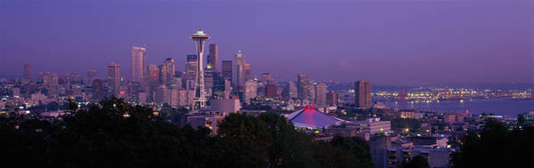 Elliot Bay Wall Art - Photograph - Seattle Wa Usa by Panoramic Images
