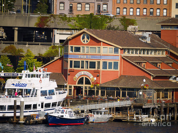 Photograph - Seattle Waterfront by Brenda Kean