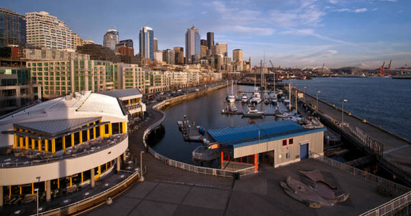 Emerald City Wall Art - Photograph - Seattle Waterfront by Mike Reid