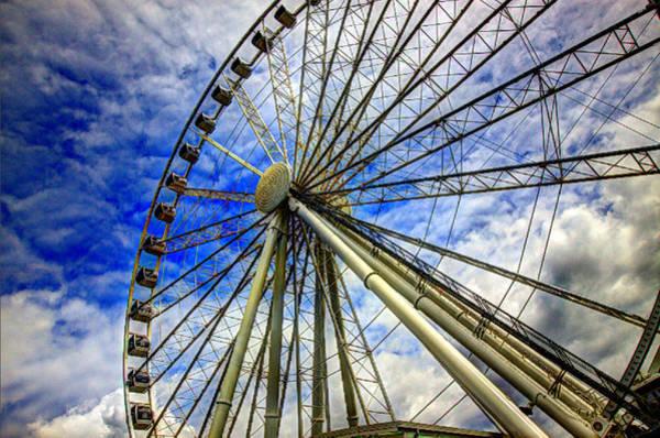 Photograph - Seattle's Great Wheel by John King