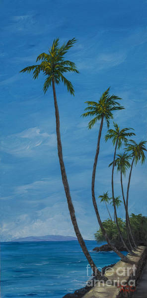 Painting - Seawall Palms by Darice Machel McGuire