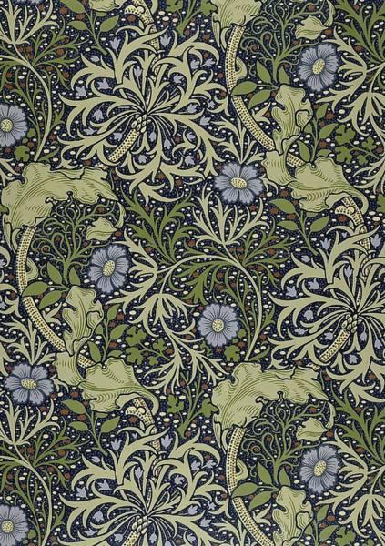 Seaweed Digital Art - Seaweed Pattern by Philip Ralley