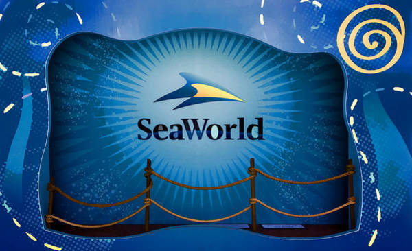 Digital Art - Seaworld Display  by Photographic Art by Russel Ray Photos