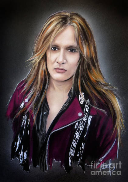 Wall Art - Painting - Sebastian Bach by Melanie D