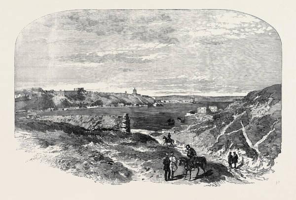 Ukraine Drawing - Sebastopol, From The Arsenal Creek by English School