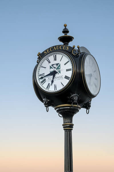 Photograph - Secaucus Clock Xchange by Susan Candelario