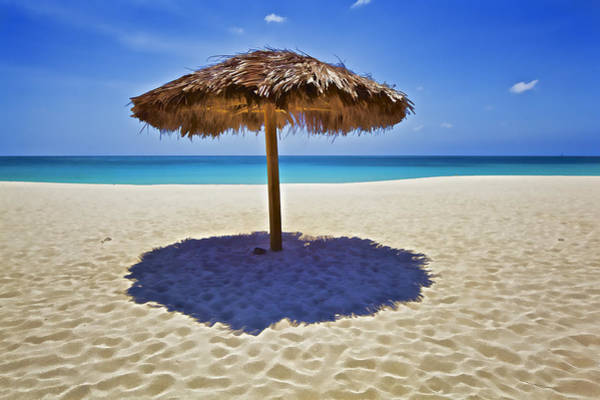 Photograph - Secluded Beach Of The Caribbean by David Letts