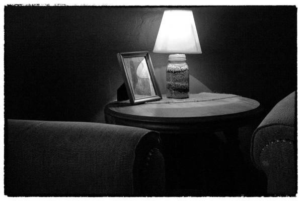 Photograph - Secluded In Black And White by David Patterson