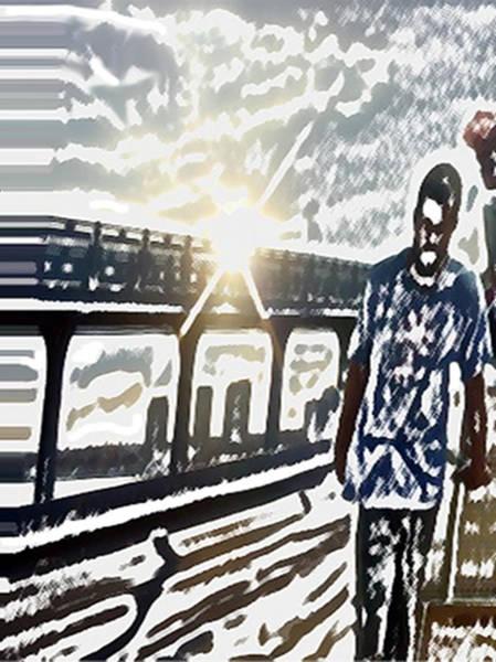 Digital Art - Second Crossing by Dennis Buckman