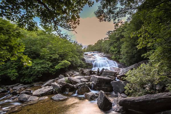 Photograph - Second Falls 2 by Randy Scherkenbach