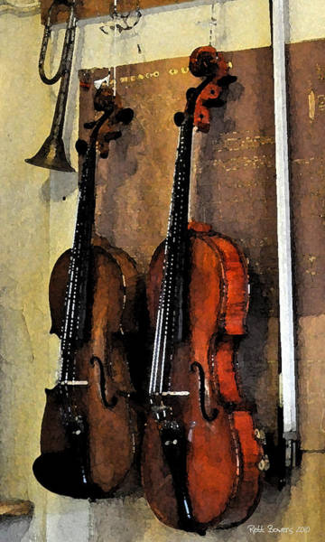 Wall Art - Photograph - Second Fiddle by Everett Bowers