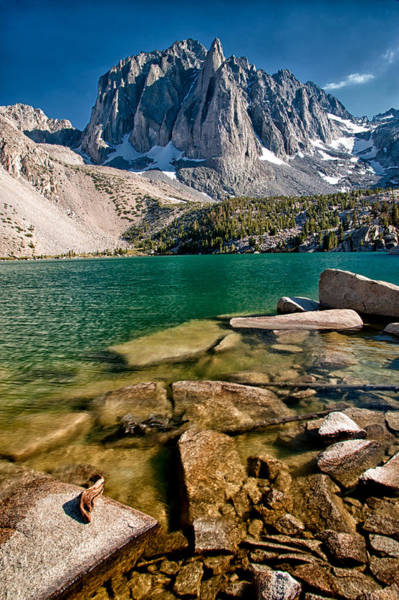 Sierra Nevada Photograph - Second Lake And Temple Crag by Cat Connor